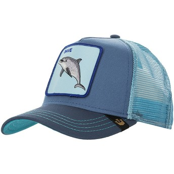 Goorin Bros. Dolphin Save Us Blue Trucker Hat
