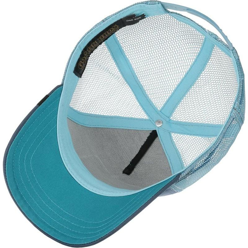Goorin Bros Dolphin Save Us Blue Trucker Hat Shop Online