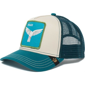 Goorin Bros. Dove Peace Keeper Blue and White Trucker Hat