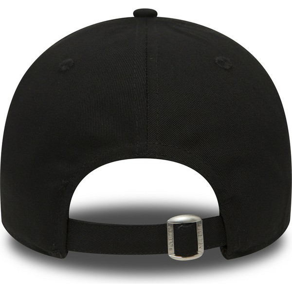 new-era-curved-brim-9forty-essential-new-york-yankees-mlb-black-adjustable-cap