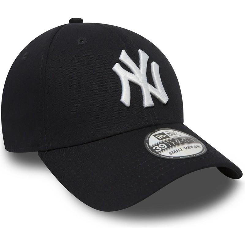38f452d766dd4 New Era Curved Brim 39THIRTY Classic New York Yankees MLB Navy Blue ...