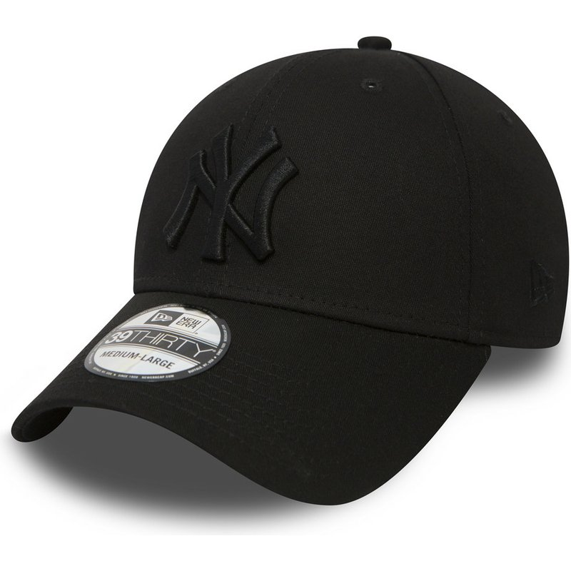 New Era Curved Brim 39THIRTY Classic New York Yankees MLB Black ... 921f74f3cc5