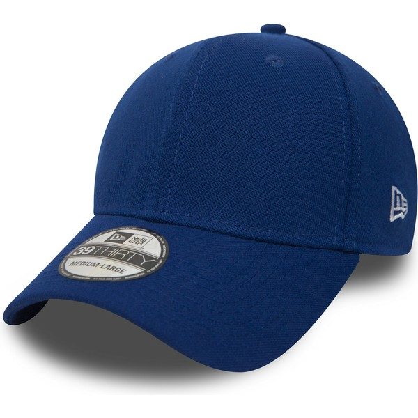 new-era-curved-brim-39thirty-basic-flag-blue-fitted-cap