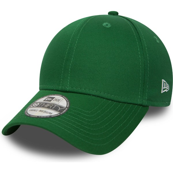 new-era-curved-brim-39thirty-basic-flag-green-fitted-cap