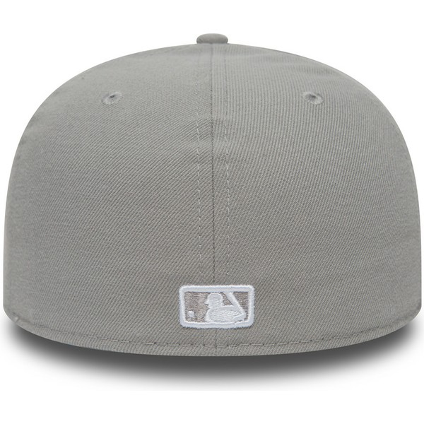 new-era-flat-brim-59fifty-essential-los-angeles-dodgers-mlb-grey-fitted-cap