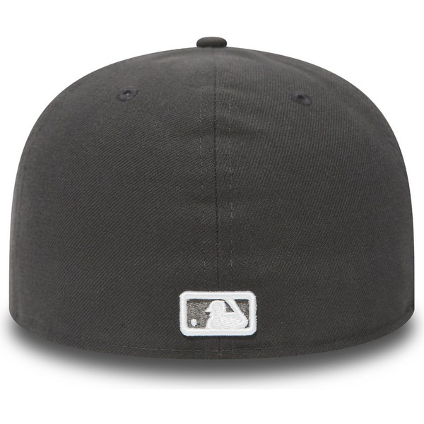 new-era-flat-brim-59fifty-essential-new-york-yankees-mlb-stone-grey-fitted-cap