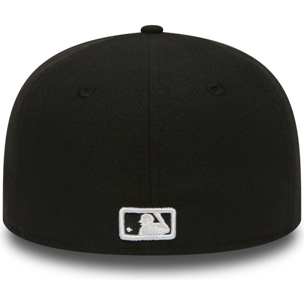 new-era-flat-brim-youth-59fifty-essential-new-york-yankees-mlb-black-fitted-cap