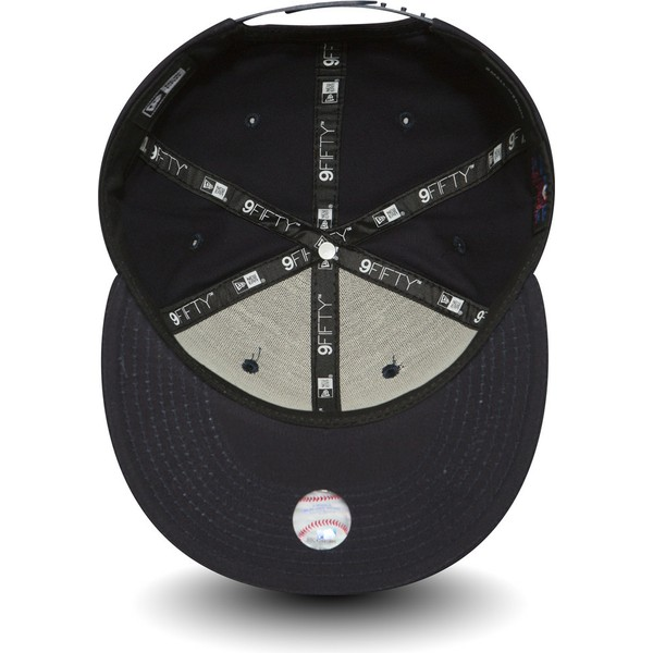 new-era-flat-brim-9fifty-essential-boston-red-sox-mlb-navy-blue-snapback-cap