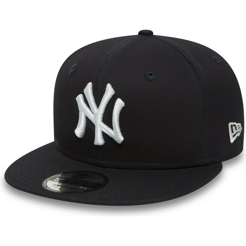 New Era Flat Brim 9fifty Essential New York Yankees Mlb