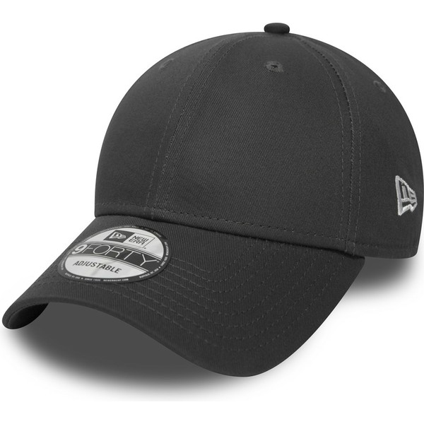 new-era-curved-brim-9forty-basic-flag-stone-grey-adjustable-cap