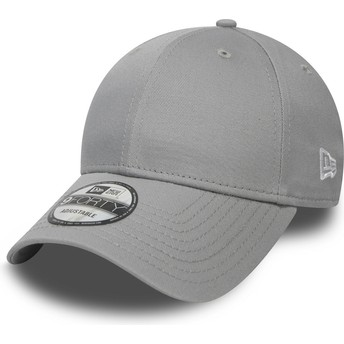 New Era Curved Brim 9FORTY Basic Flag Grey Adjustable Cap