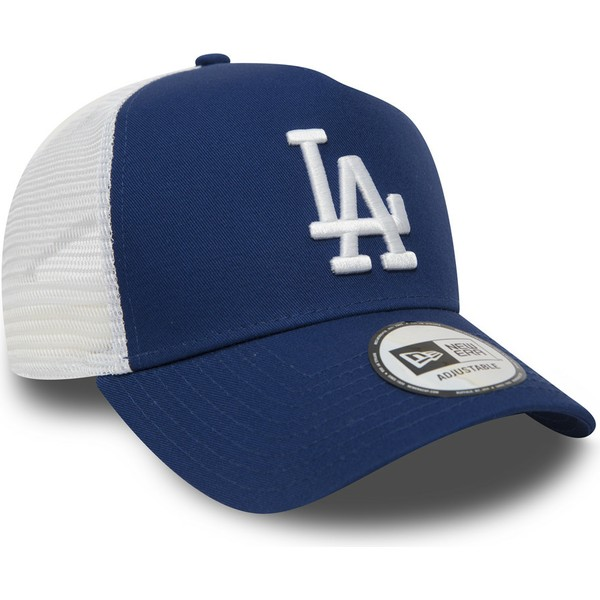 new-era-clean-a-frame-los-angeles-dodgers-mlb-blue-trucker-hat
