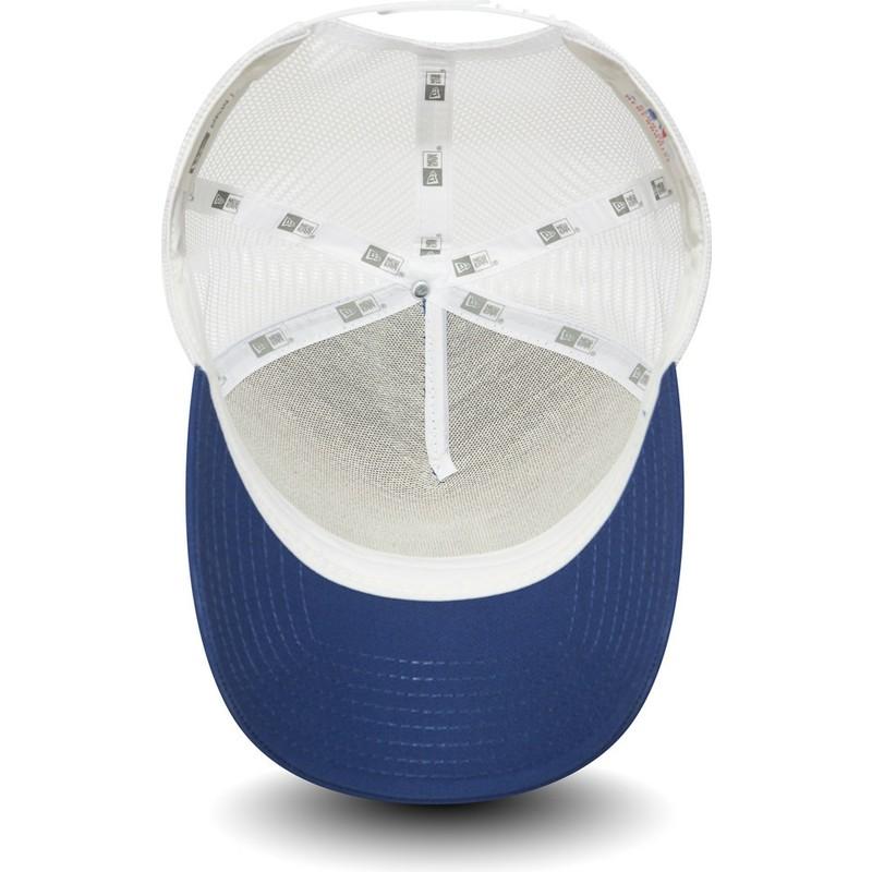 New Era Clean A Frame Los Angeles Dodgers MLB Blue Trucker Hat: Shop ...