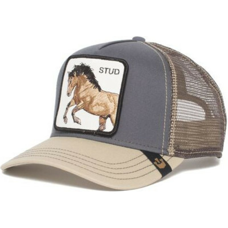 Goorin Bros Horse You Stud Grey Trucker Hat Shop Online