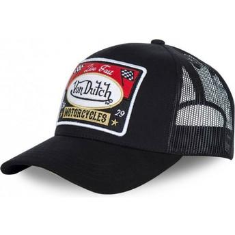 Von Dutch Curved Brim BLACKY1 Black Adjustable Cap
