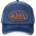von-dutch-curved-brim-bob06-blue-adjustable-cap