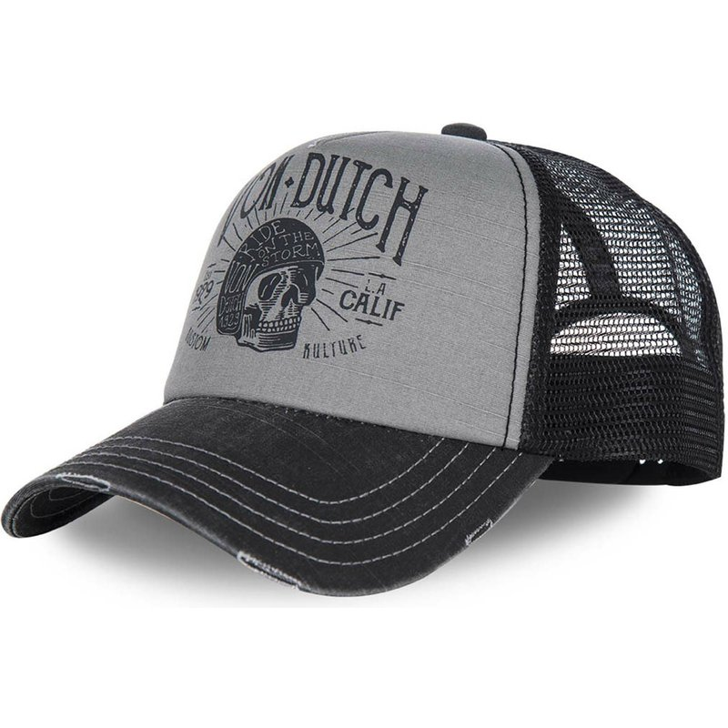 von-dutch-curved-brim-crew1-grey-and-black-adjustable-cap