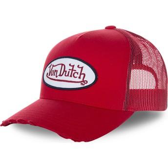 Gorra trucker roja FRESH01 de Von Dutch