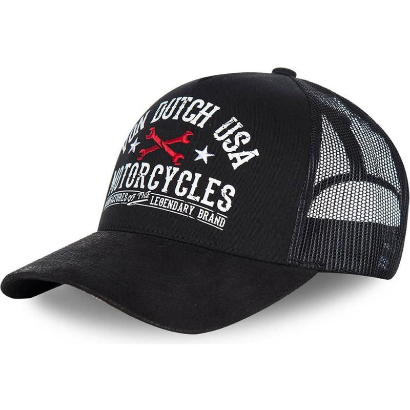 Von Dutch Garn2 Black Trucker Hat Caphunters Com