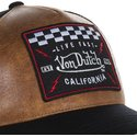 von-dutch-grl2-brown-and-black-trucker-hat