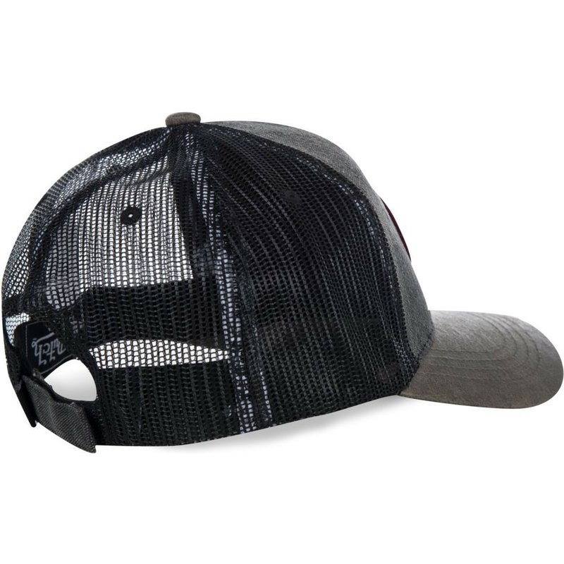 4ac2058310726 Von Dutch ROB Black Trucker Hat  Shop Online at Caphunters