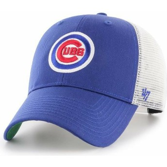 47 Brand Chicago Cubs MLB MVP Branson Blue Trucker Hat