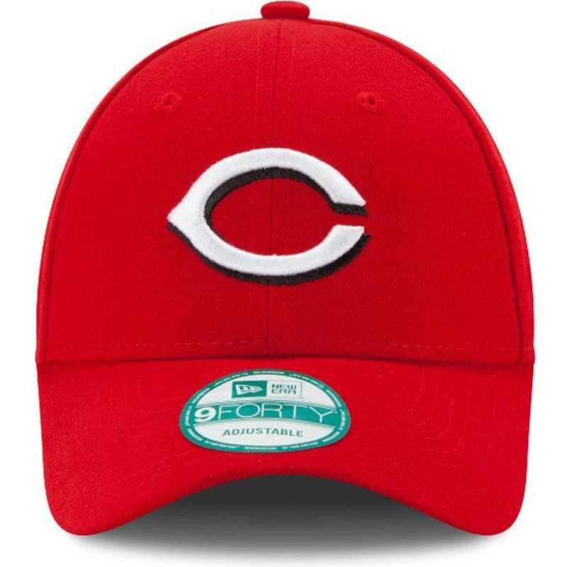 afdc655123f505 New Era Curved Brim 9FORTY The League Cincinnati Reds MLB Red ...