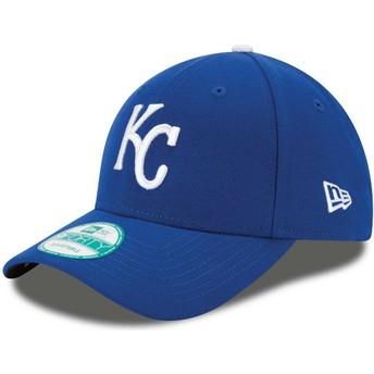 Gorra curva azul ajustable 9FORTY The League de Kansas City Royals MLB de New Era