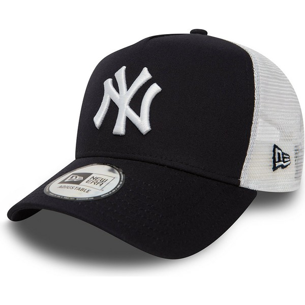new-era-clean-a-frame-2-new-york-yankees-mlb-navy-blue-trucker-hat