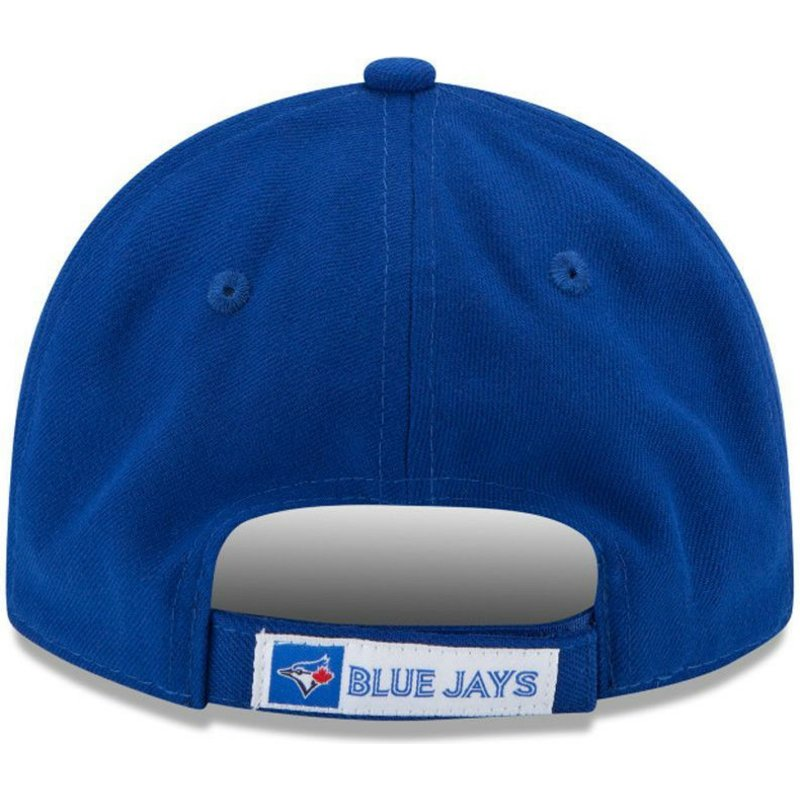 New Era Curved Brim 9FORTY The League Toronto Blue Jays MLB Blue ... dd14bde1c10