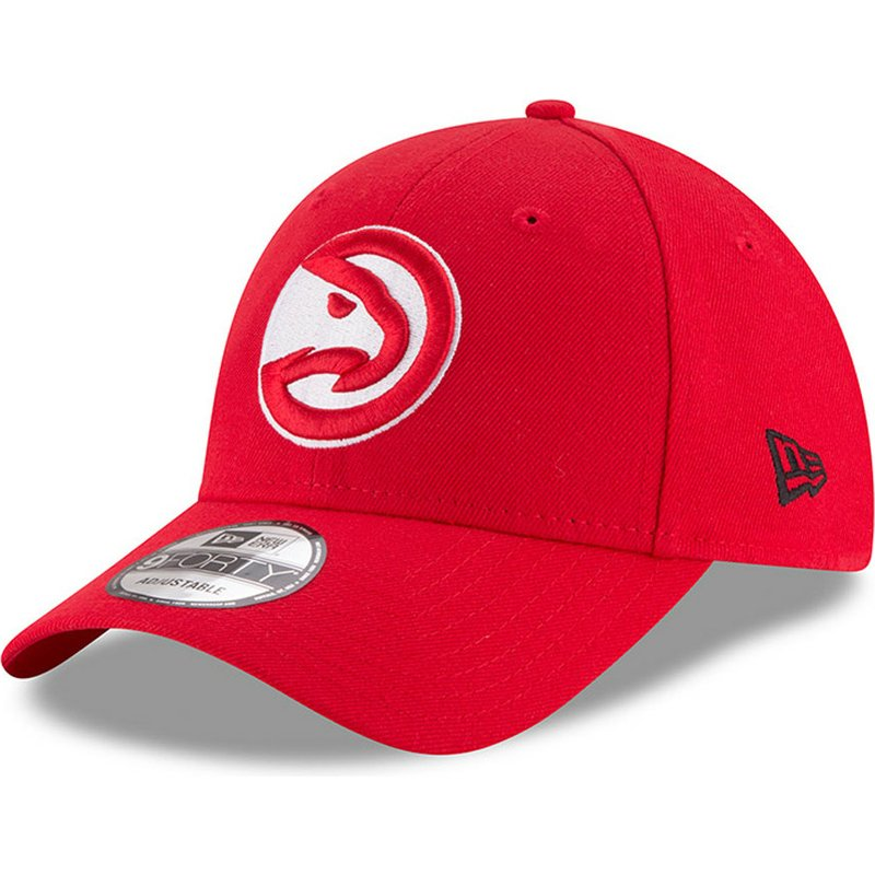 New Era Curved Brim 9FORTY The League Atlanta Hawks NBA Red ... 79a291a6daa
