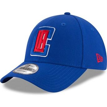 Gorra curva azul ajustable 9FORTY The League de Los Angeles Clippers NBA de New Era