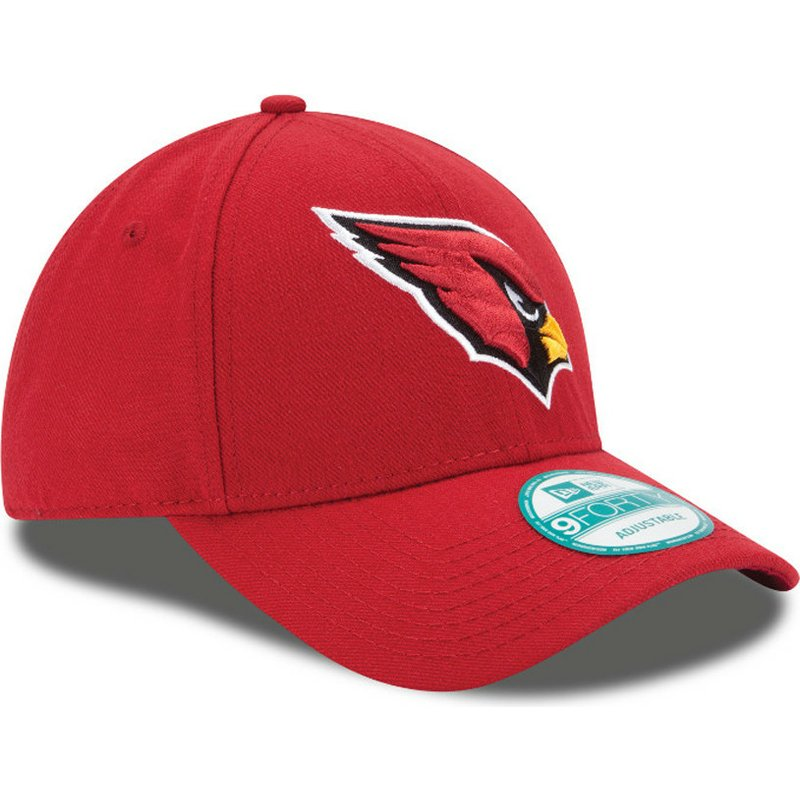 ee9f8480a New Era Curved Brim 9FORTY The League Arizona Cardinals NFL Red ...