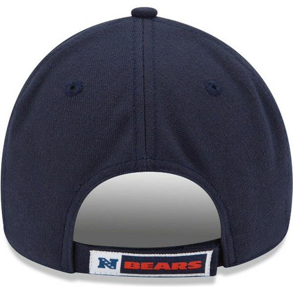 new-era-curved-brim-9forty-the-league-chicago-bears-nfl-navy-blue-adjustable-cap