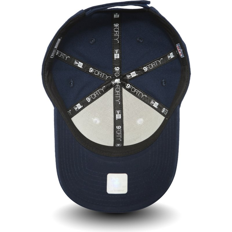 New Era Curved Brim 9FORTY The League Dallas Cowboys NFL White and ... 466385813