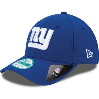 Gorra curva azul ajustable 9FORTY The League de New York Giants NFL de New Era