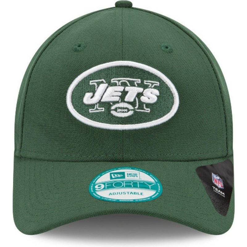 b03f747a8 New Era Curved Brim 9FORTY The League New York Jets NFL Green ...