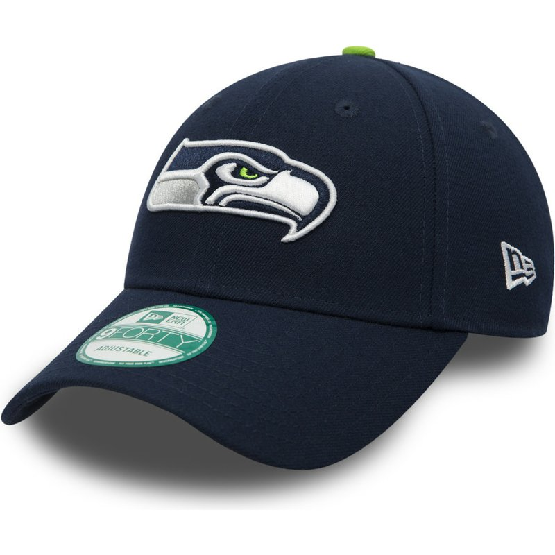 new-era-curved-brim-9forty-the-league-seattle-seahawks-nfl-navy-blue-adjustable-cap
