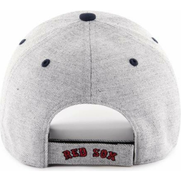 47-brand-curved-brim-boston-red-sox-mlb-mvp-storm-cloud-grey-adjustable-cap