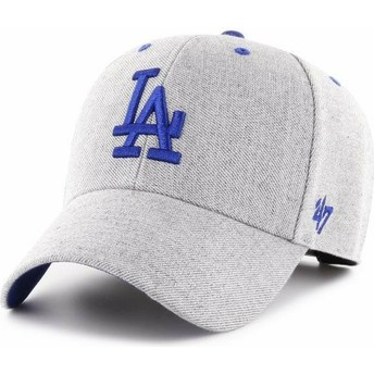 47 Brand Curved Brim Los Angeles Dodgers MLB MVP Storm Cloud Grey Adjustable Cap