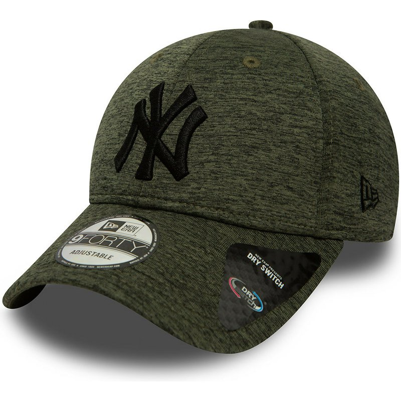 New Era Curved Brim 9forty Dry Switch Jersey New York