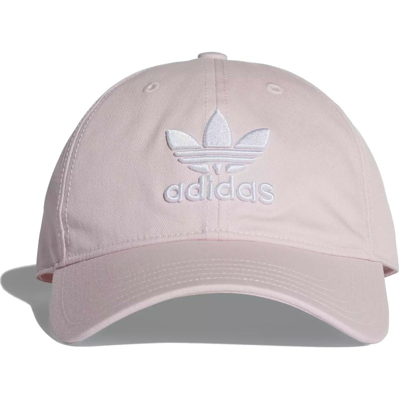 Adidas Curved Brim Trefoil Classic Light Pink Adjustable Cap  Shop ... ea90b2628