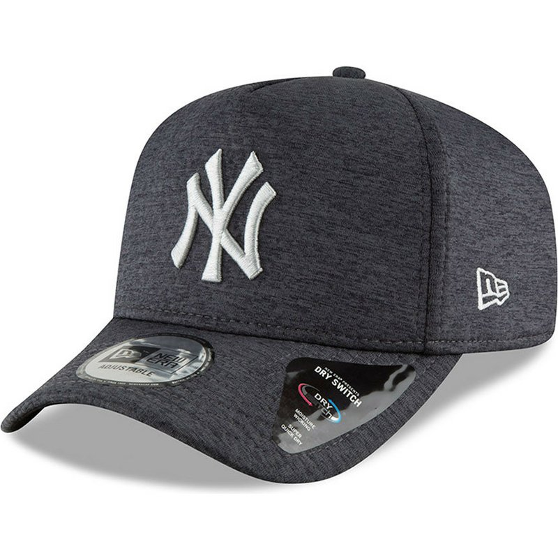 c7d681afdf8 New Era Curved Brim 9FORTY Dry Switch A Frame New York Yankees MLB ...