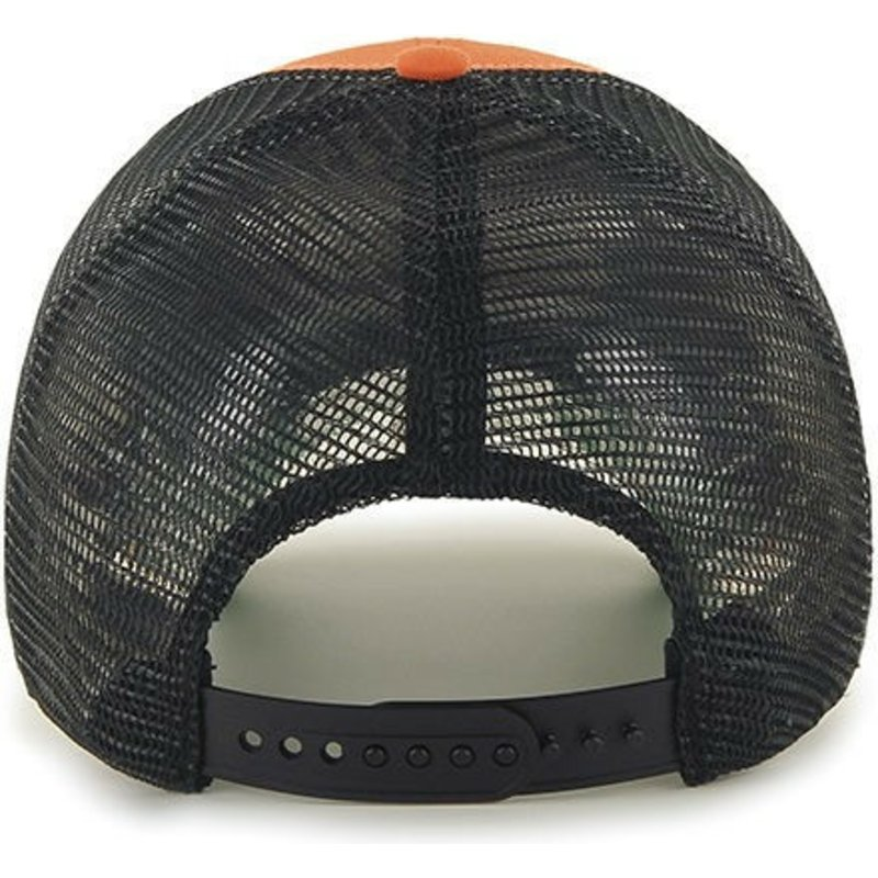 2f479d3c575718 47 Brand Philadelphia Flyers NHL MVP Branson Orange Trucker Hat ...
