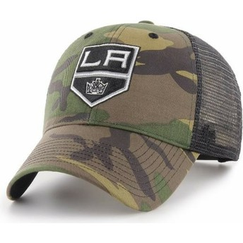 47 Brand Los Angeles Kings NHL MVP Branson Camouflage Trucker Hat