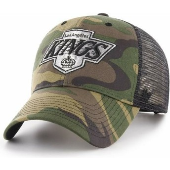47 Brand Los Angeles Kings NHL MVP Branson Camouflage Trucker Hat