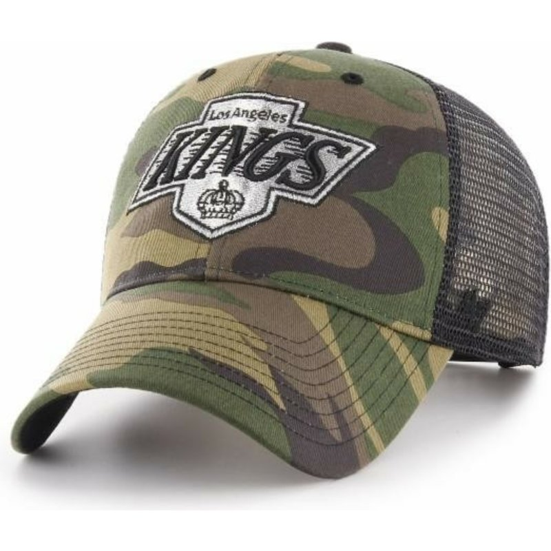 47-brand-los-angeles-kings-nhl-mvp-branson-camouflage-trucker-hat