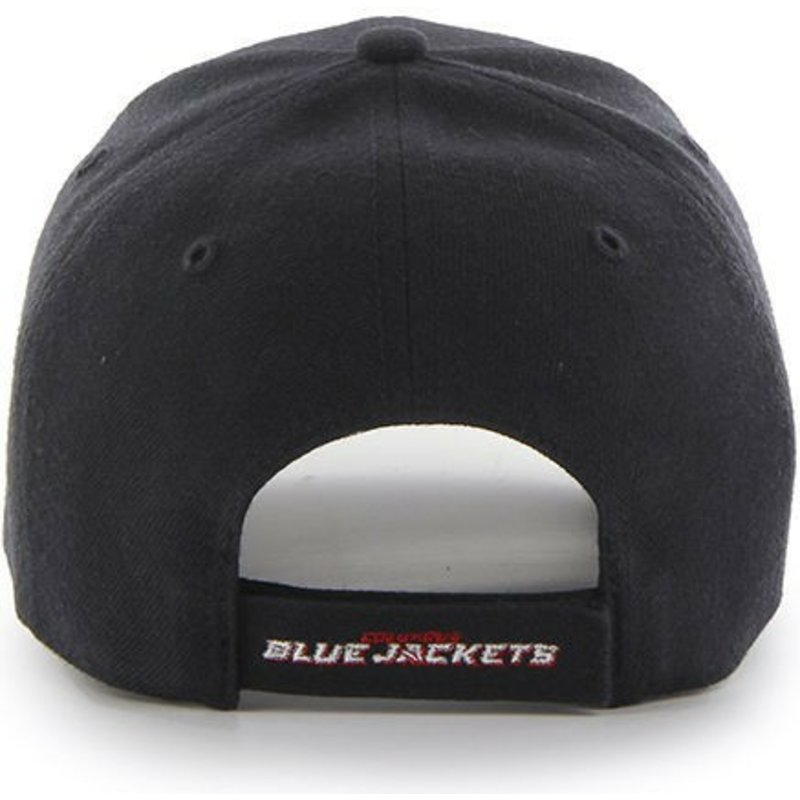 530760d490a39d 47 Brand Curved Brim Columbus Blue Jackets NHL MVP Navy Blue Cap ...