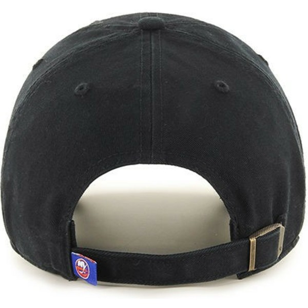 47-brand-curved-brim-new-york-islanders-nhl-clean-up-black-cap