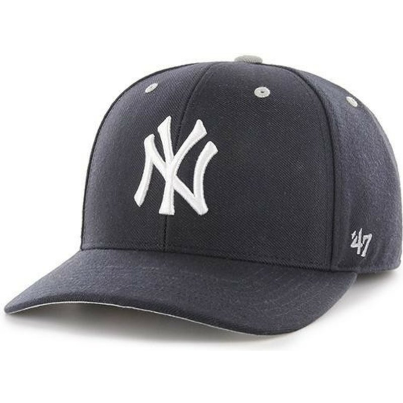 47 Brand Curved Brim New York Yankees MLB MVP DP Audible Navy Blue ... d01de5f39c